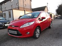USED 2009 09 FORD FIESTA 1.2 ZETEC 3d 81 BHP FULL FORD HISTORY, 27K, 2 OWNERS, IMMACULATE CONDITION!