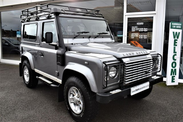 2011 61 LAND ROVER DEFENDER 2.4 90 TD XS COUNTY STATION WAGON 121 BHP LOW MILES