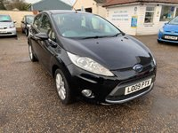 USED 2009 09 FORD FIESTA 1.4 ZETEC TDCI 5d 68 BHP NOW IN PICS TO FOLLOW / EXCELLENT LOW MILEAGE / FULL SERVICE HISTORY X 7 STAMPS