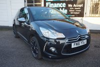 USED 2011 61 CITROEN DS3 1.6 HDI DSPORT PLUS 3d 110 BHP LEATHER-BLUETOOTH-HISTORY Service History, Full Leather, Btooth, USB, Chrome Pack