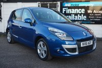 USED 2011 61 RENAULT SCENIC 1.5 DYNAMIQUE TOMTOM DCI 5d  NAV-2 OWNERS-B/TOOTH Service History, Sat Nav, Half Leather, Bluetooth, USB