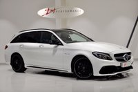 USED 2017 67 MERCEDES-BENZ C CLASS 4.0 AMG C 63 PREMIUM 5d AUTO 469 BHP INCREDIBLE SPECIFICATION C63 FORGED WHEELS/NIGHT PK/CARBON