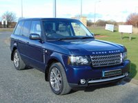 USED 2012 12 LAND ROVER RANGE ROVER 4.4 TDV8 WESTMINSTER 5d AUTO 313 BHP SAT NAV, TV, DUAL VIEW, DAB RADIO
