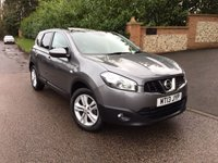 2013 NISSAN QASHQAI+2 1.5 DCI ACENTA PLUS 2 5d 110 BHP PLEASE CALL TO VIEW £8950.00