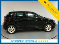 USED 2013 13 VOLKSWAGEN POLO 1.4 MATCH 5d 83 BHP VOLKSWAGEN HISTORY - REAR SENSORS - AIR CON - DAB RADIO - CD PLAYER - PRIVACY - AUX CONNECTION