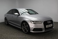 USED 2015 65 AUDI A6 2.0 TDI ULTRA S LINE BLACK EDITION 4DR AUTO 188 BHP 1 OWNER £30 ROAD TAX SERVICE HISTORY + £30 12 MONTHS ROAD TAX + HEATED LEATHER SEATS + SATELLITE NAVIGATION + HEAD UP DISPLAY + BOSE PREMIUM SPEAKERS + PARKING SENSOR + BLUETOOTH + CRUISE CONTROL + CLIMATE CONTROL + REAR PRIVACY GLASS + MULTI FUNCTION WHEEL + RADIO/CD + 20 INCH ALLOY WHEELS