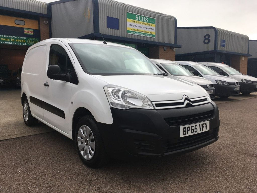 f4a4f797283ba8 2016 65 CITROEN BERLINGO 1.6 625 ENTERPRISE L1 HDI 1d 74 BHP