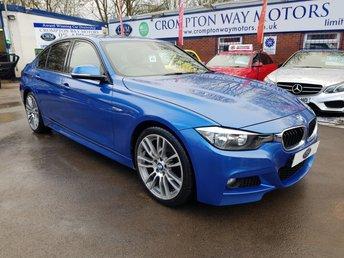 2013 BMW 3 SERIES 2.0 320D M SPORT 4d 181 BHP £11100.00