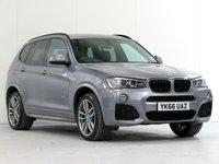 2016 BMW X3 2.0 XDRIVE20D M SPORT 5d AUTO 188 BHP £22987.00