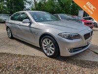 USED 2011 61 BMW 5 SERIES 2.0 520D SE 4d AUTO SAT NAV LEATHER 181 BHP