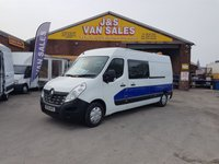 USED 2015 64 RENAULT MASTER BUSINESS DCI S/R P/V MESSING UNIT + REAR TOILET  (( MASTER L.W.B MESS UNIT BIG SPEC REAR TOILET ))