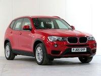 2015 BMW X3 2.0 XDRIVE20D SE 5d 188 BHP £16675.00