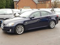 USED 2009 09 LEXUS IS 2.5 250 SE-L 4d 204 BHP