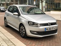 2016 VOLKSWAGEN POLO 1.0 BLUEMOTION TSI 5d 93 BHP £9190.00