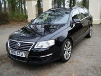 2010 VOLKSWAGEN PASSAT 2.0 HIGHLINE PLUS TDI BLUEMOTION TECHNOLOGY 5d 138 BHP £6495.00