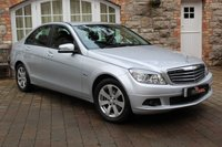 USED 2010 MERCEDES-BENZ C CLASS 1.6 C180 KOMPRESSOR BLUEEFFICIENCY SE 4d AUTO 156 BHP EXCELLENT CONDITION