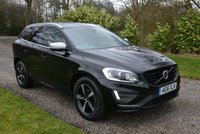 USED 2016 16 VOLVO XC60 2.0 D4 R-DESIGN LUX NAV 5d 188 BHP 1 OWNER FVSH LEATHER XENONS SAT NAV HEATED SEATS PARKING SENSORS TAX £30