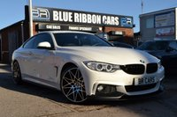 "USED 2015 65 BMW 4 SERIES 2.0 420D M SPORT 2d AUTO 188 BHP M PERFORMANCE KIT, 20"" ALLOYS, PRO NAV, SERVICE PACK"