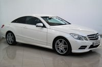 2012 MERCEDES-BENZ E CLASS 2.1 E250 CDI BLUEEFFICIENCY S/S SPORT 2d AUTO 204 BHP £11750.00