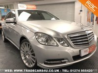 USED 2011 61 MERCEDES-BENZ E 250  CDI DIESEL SE EDITION 125 6 SPD MANUAL UK DELIVERY* RAC APPROVED* FINANCE ARRANGED* PART EX