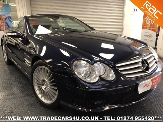 2005 05 MERCEDES-BENZ SL 55 AMG KOMPRESSOR 5.4 V8 WITH PAN ROOF
