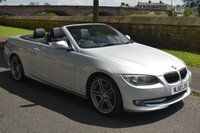 USED 2010 10 BMW 3 SERIES 3.0 325I CONVERTIBLE SPORT SPEC SE 2d 215 BHP SERVICE HISTORY, ELECTRIC HARDTOP, WIND DEFLECTOR, HEATED LEATHER RADIO CD PLAYER