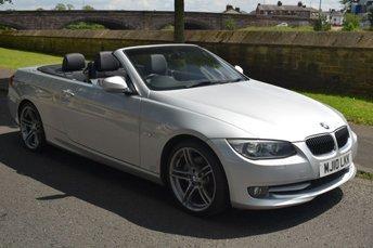 2010 BMW 3 SERIES 3.0 325I CONVERTIBLE SPORT SPEC SE 2d 215 BHP £8876.00