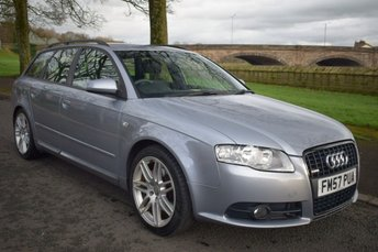 2008 AUDI A4 2.0 TDI S LINE SPECIAL EDITION 5d ESTATE 170 BHP £4500.00