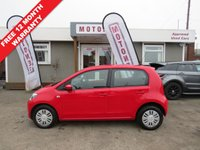 2012 VOLKSWAGEN UP 1.0 MOVE UP 5DR HATCHBACK  £3980.00