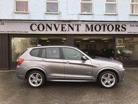 2014 BMW X3 2.0 XDRIVE20D M SPORT 5d AUTO 181 BHP £16490.00