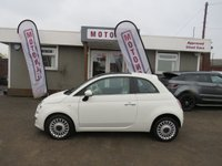 2010 FIAT 500 1.2 LOUNGE 3DR HATCHBACK 70 BHP £SOLD