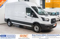 USED 2017 17 FORD TRANSIT 2.0 350 L3 H3 P/V DRW 1d 129 BHP EURO 6 * LONG WHEEL BASE * AIR CON
