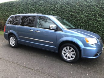 2012 CHRYSLER GRAND VOYAGER 2.8 CRD LIMITED 5d AUTO 161 BHP £14995.00