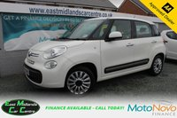USED 2015 15 FIAT 500L 1.4 POP STAR 5d 95 BHP PETROL WHITE FULL MAIN DEALER SERVICE HISTORY + OWN LADY OWNER