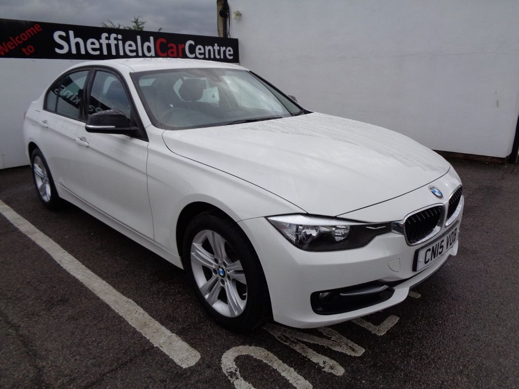 USED 2015 15 BMW 3 SERIES 2.0 318D SPORT 4d 141 BHP Bluetooth cruise control electric window climate control sought after colour full service history