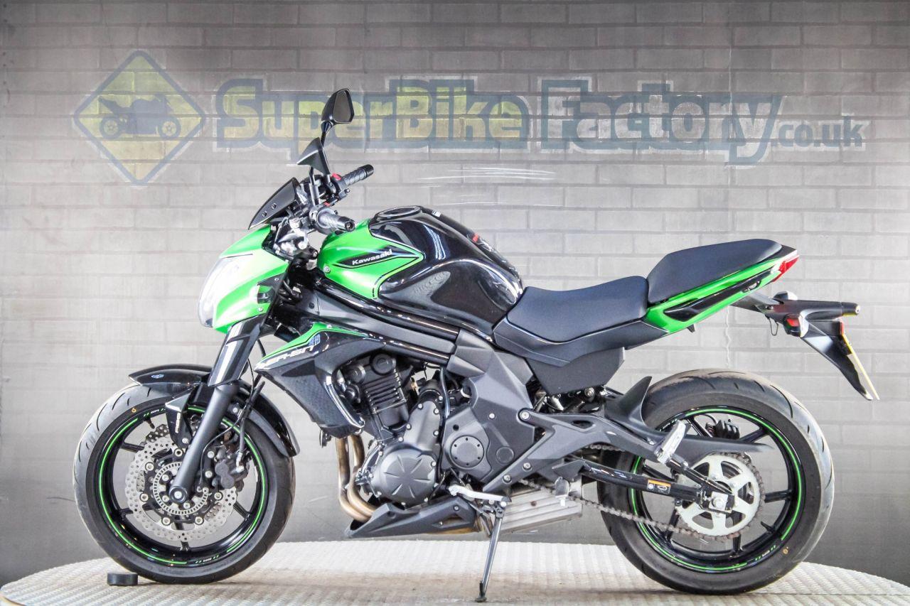 2017 Kawasaki Er 6n Er 650 Fgf Abs 4591