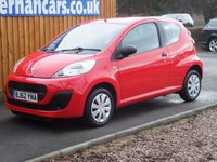 USED 2012 62 PEUGEOT 107 1.0 ACCESS 3d 68 BHP VERY CLEAN CAR