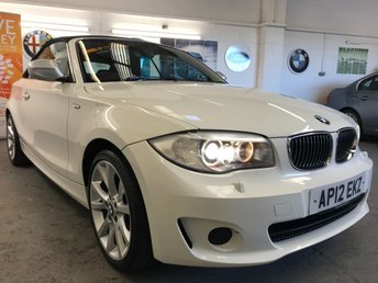 2012 BMW 1 SERIES 2.0 118I EXCLUSIVE EDITION 2d 141 BHP £8490.00