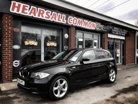 USED 2009 59 BMW 1 SERIES 2.0 118D SPORT 5d 141 BHP