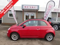 2009 FIAT 500 1.2 C LOUNGE 3DR  HATCHBACK 70 BHP £SOLD