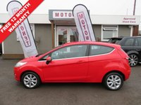 USED 2008 58 FORD FIESTA 1.2 ZETEC 3DR HATCHBACK  82 BHP +++FEBRUARY SALE NOW ON+++