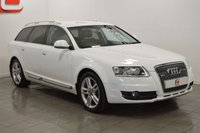 USED 2011 61 AUDI A6 3.0 ALLROAD TDI QUATTRO 5d 237 BHP STUNNER IN WHITE + SAT NAV + BLACK LEATHER + PRIVACY GLASS