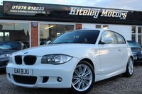 USED 2011 11 BMW 1 SERIES 2.0 118D M SPORT 3d 141 BHP
