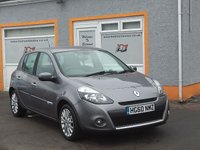 USED 2010 60 RENAULT CLIO 1.5 DYNAMIQUE TOMTOM DCI 5d 86 BHP 6 Service Stamps,, Air Con, CD/Radio, 16 Inch Alloys