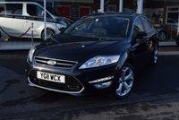 2011 FORD MONDEO 1.8 TITANIUM PLUS TDCI 5d 124 BHP £6490.00