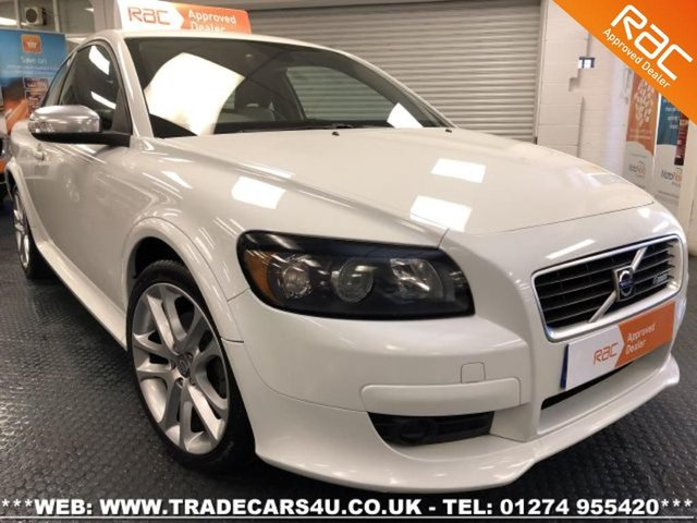 2008 58 VOLVO C30 2.4 D5 R-DESIGN SE SPORT 6 SPD MANUAL WHITE