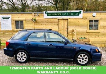 2003 SUBARU IMPREZA 2.0 GX AWD 5d 125 BHP £1695.00