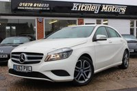 USED 2013 63 MERCEDES-BENZ A-CLASS 1.6 A180 BLUEEFFICIENCY SPORT 5d AUTO 122 BHP