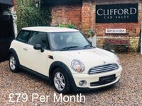 2009 MINI HATCH ONE 1.4 ONE 3d 94 BHP £2995.00