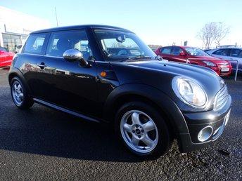 2010 MINI HATCH ONE 1.4 ONE 3d 94 BHP £4495.00